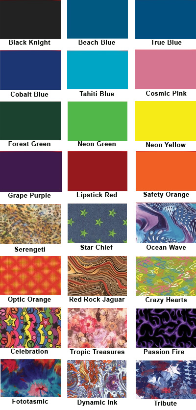 Agility Harness Fabrics